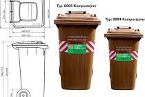 Nymburáci aktivně třídí bioodpad