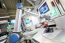 Firma využívá i robotické systémy.