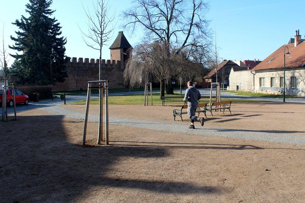 Lokalita Na Rejdišti, kde by mohla být Lavička Václava Havla instalována.