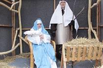 Role Marie a Josefa se zhostili žáci základní školy.