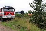 Tragická nehoda se stala na polním přejezdu mezi Nymburkem a Hořátví.