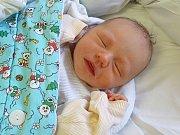 ONDŘEJ KADLEC se narodil 28. 12. 2017 v 10.25 hodin s výškou 50 cm a váhou 3 680 g. Prvorozený bydlí s rodiči Ondřejem a Anetou ve Velelibech.
