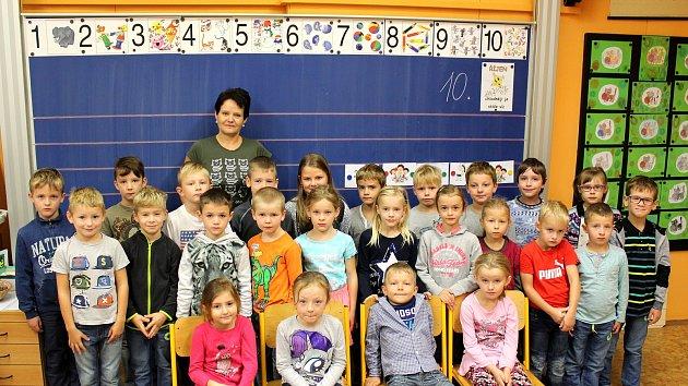 Základní škola Kostomlaty, třídní učitelka Hana Hudcová