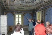 Mlýn Bašta a malby, které přijdou zrestaurovat