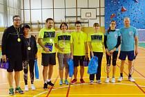 Kralovali turnaji. Badmintonisté sadského oddílu patřili v Milíně mezi nejlepší