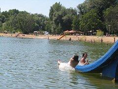 Jezero v Poděbradech