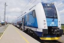 Nová elektrická vlaková jednotka InterPanter, která bude nasazena na vnitrostátní rychlíky.