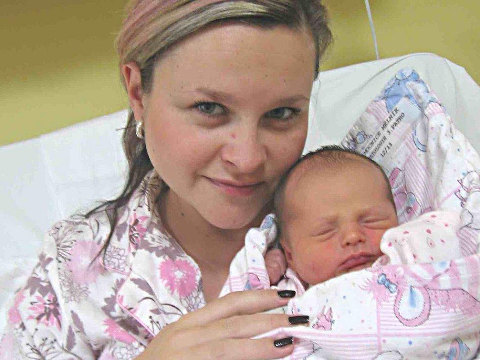 ANDREA SE NARODILA V MĚLNÍKU. Andrea Mrázová se rodičům Jindřišce a Tomášovi z Poděbrad narodila v mělnické porodnici 8. listopadu 2014. Po porodu  vážila 2 810 g  a měřila 48 cm.