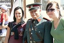 Sobotní osvobození republiky v Milovicích