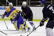 Z utkání druhé hokejové ligy Nymburk - Chotěboř (4:3)