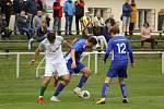 Z fotbalového utkání krajského přeboru Slovan Lysá nad Labem - Polaban Nymburk (0:3)