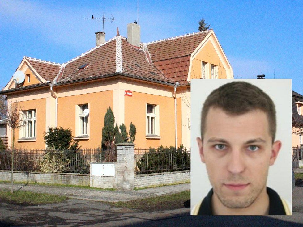 V tomto domě se v roce 2009 stala vražda. Podezřelý z ní je Slovák, kterého minulý týden zadržela policie v Argentině (ve výřezu).