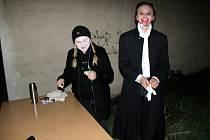 V pátek si děti užily tradiční soutěž Nymburk plný strašidel.