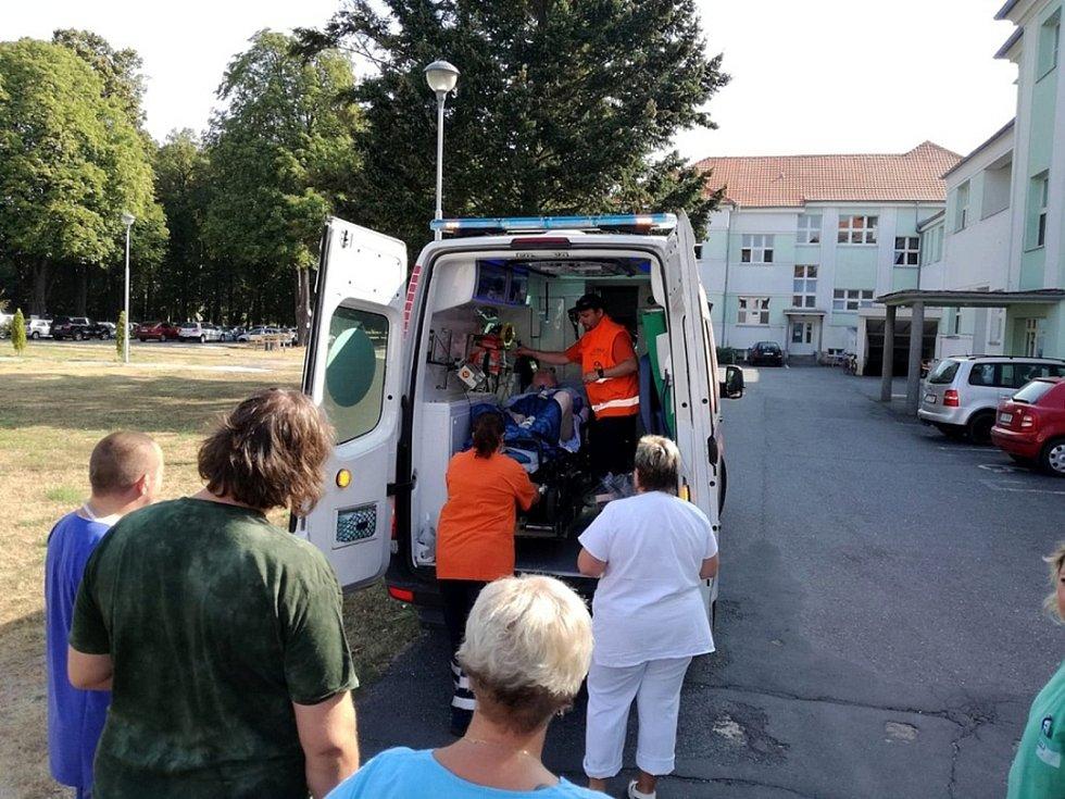 Václav Trč byl propuštěn z nemocnice v Městci Králové po více než 10 letech.