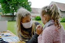 Na dětský den v Městci Králové dorazila zhruba padesátka dětí.