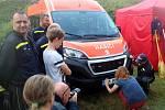 Dva nové vozy mají ve svém vozovém parku dobrovolní hasiči z Nymburka.