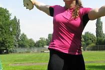 Diskařka Cechlová trénuje na olympiádu v Nymburce