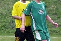 Z utkání Semice - Litol (3:0).