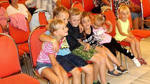 Balkánská dechovka Lipno rozdováděla děti i rodiče