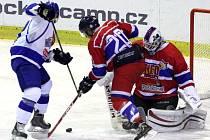 UŽ POTŘEBUJÍ BODOVAT. Hokejisté Nymburka mají za sebou tři zápasy, na svém kontě ale ani jeden bod