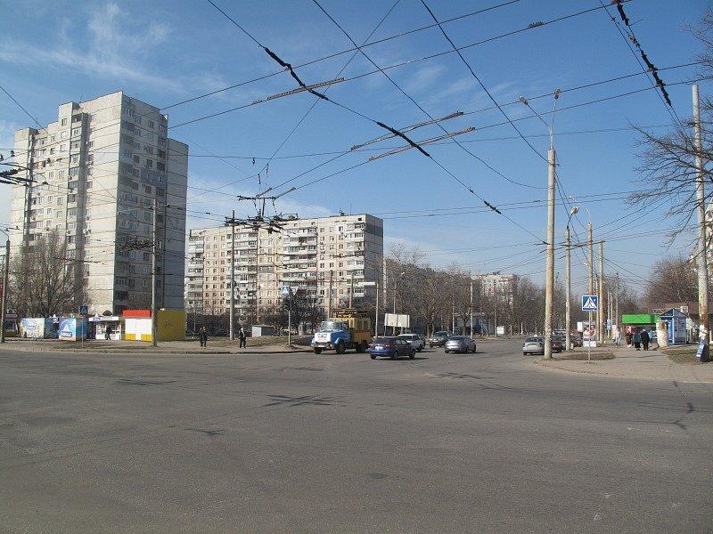 Charkovské sídliště, na němž Josef Kubíček momentálně žije