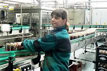 Nová stáčecí linka v nymburském pivovaru