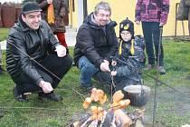 Železničáři vyrazili se svými rodinami na tradiční výlet. Tentokrát do Dobšic.