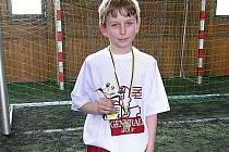 Nejlepším hráčem turnaje se stal milovický Daniel Pacovský