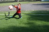 Malí fotbalisté vystřídali na Tyršáku olympioniky