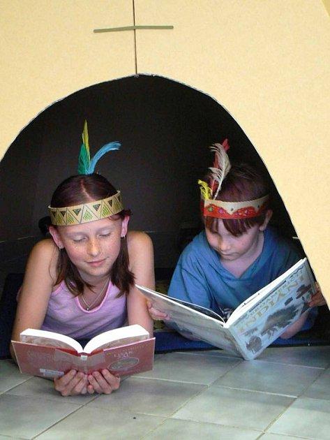 V nymburské knihovně se usídlili indiáni