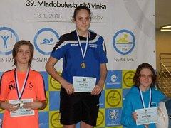 SIMONA DOBRKOVSKÁ brala v Boleslavi dvě zlata.