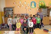 1. třída Základní škola Křinec. Třídní učitelka Pavlína Brzobohatá