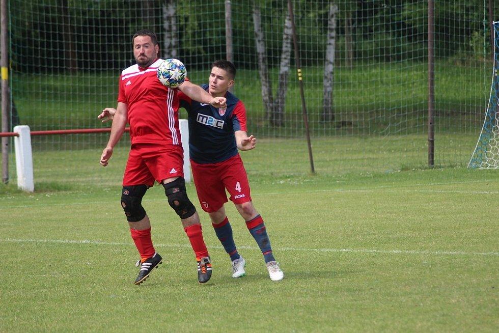 Z přípravného fotbalového utkání Městec Králové - Kopidlno (4:0)
