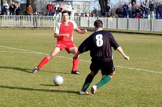 Petr Kukla (vlevo) dal čtyři góly.