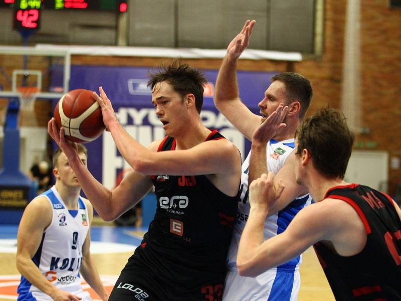 Z finále basketbalového Českého poháru Nymburk - Kolín