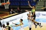 Z basketbalového utkání Kooperativa NBL Nymburk - Ústí nad Labem (112:76)