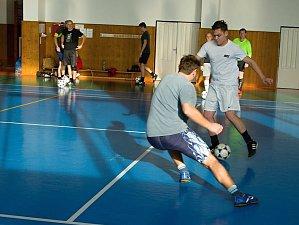 Fotbalisté Slovče si zahráli na profíky