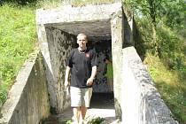 V Jiřicích o víkendu zpřístupnili protiatomový bunkr.