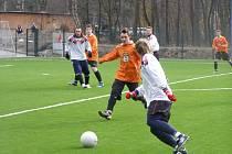 Fotbalisté Loučeně remizovali v přípravném utkání s dorostem FK Kolín.