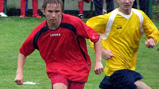 Z utkání divize staršího dorostu Polaban Nymburk - Fotbal Pardubice B (0:2)
