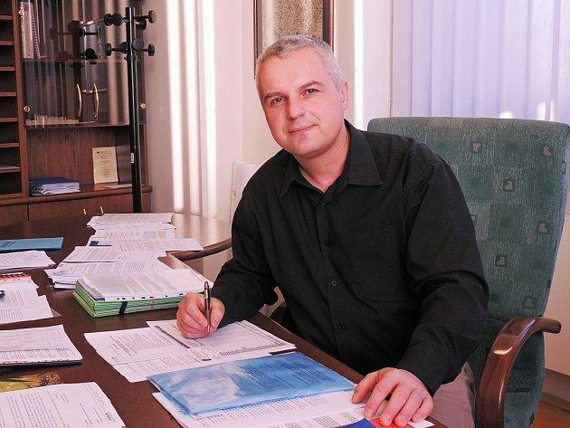 Starosta Nymburka Tomáš Mach.