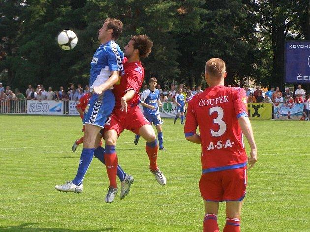 Z utkání na čelákovickém turnaji Slovan Liberec - Brno (0:0, na penalty 3:4)