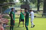 Z divizního fotbalového utkání  Polaban Nymburk - Chomutov (1:2)