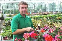 Zahradník Luděk Brzák.