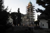 Kostel v Libici prochází zásadní rekonstrukcí.