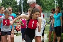 MICHAELA BREBORTOVÁ šla do běžecké části z prvního místa, nakonec brala bronz