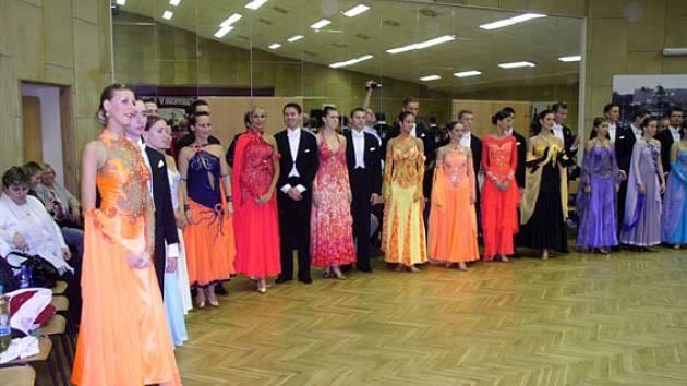 V Poděbradech se tancovalo.