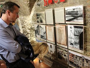 Tento týden bylo zpřístupněno sklepení pod radnicí se stálou expozicí.