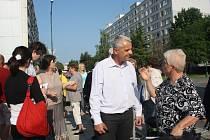 Setkání občanů s radními v Jankovicích