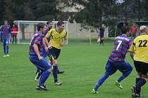 V okresním derby se z vítězství radoval Pátek, doma zdolal mužstvo Loučeně 3:2